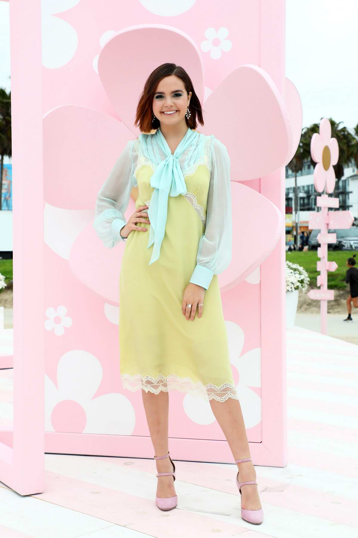 Bailee Madison attends Marc Jacobs Daisy Love 'So Sweet' Fragrance Popup Event in Los Angeles