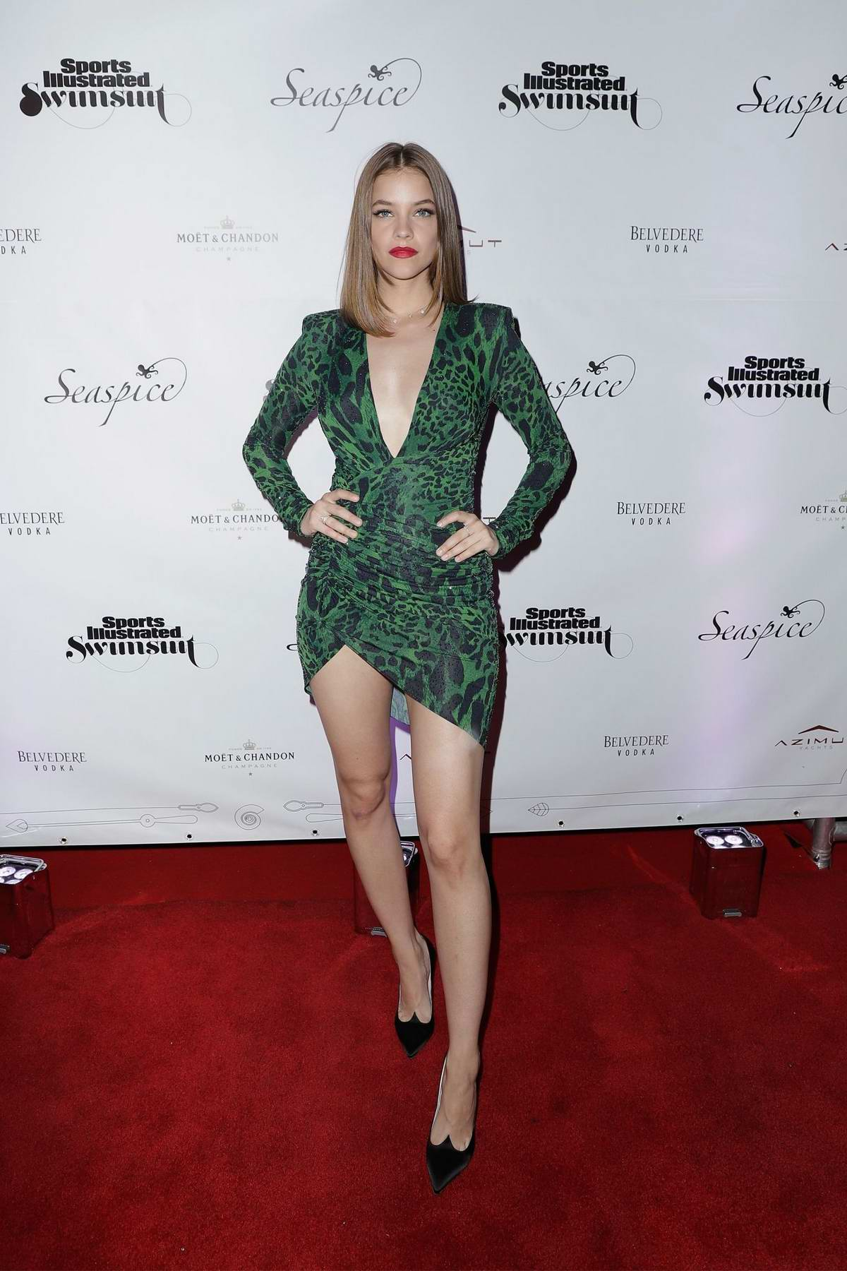 Barbara Palvin attends Sports Illustrated Swimsuit 2019 Issue Launch at Seaspice in Miami, Florida