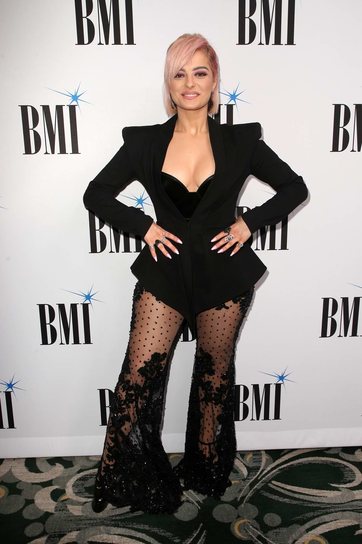 Bebe Rexha attends the 67th Annual BMI Pop Awards at The Beverly Wilshire Hotel in Beverly Hills, Los Angeles