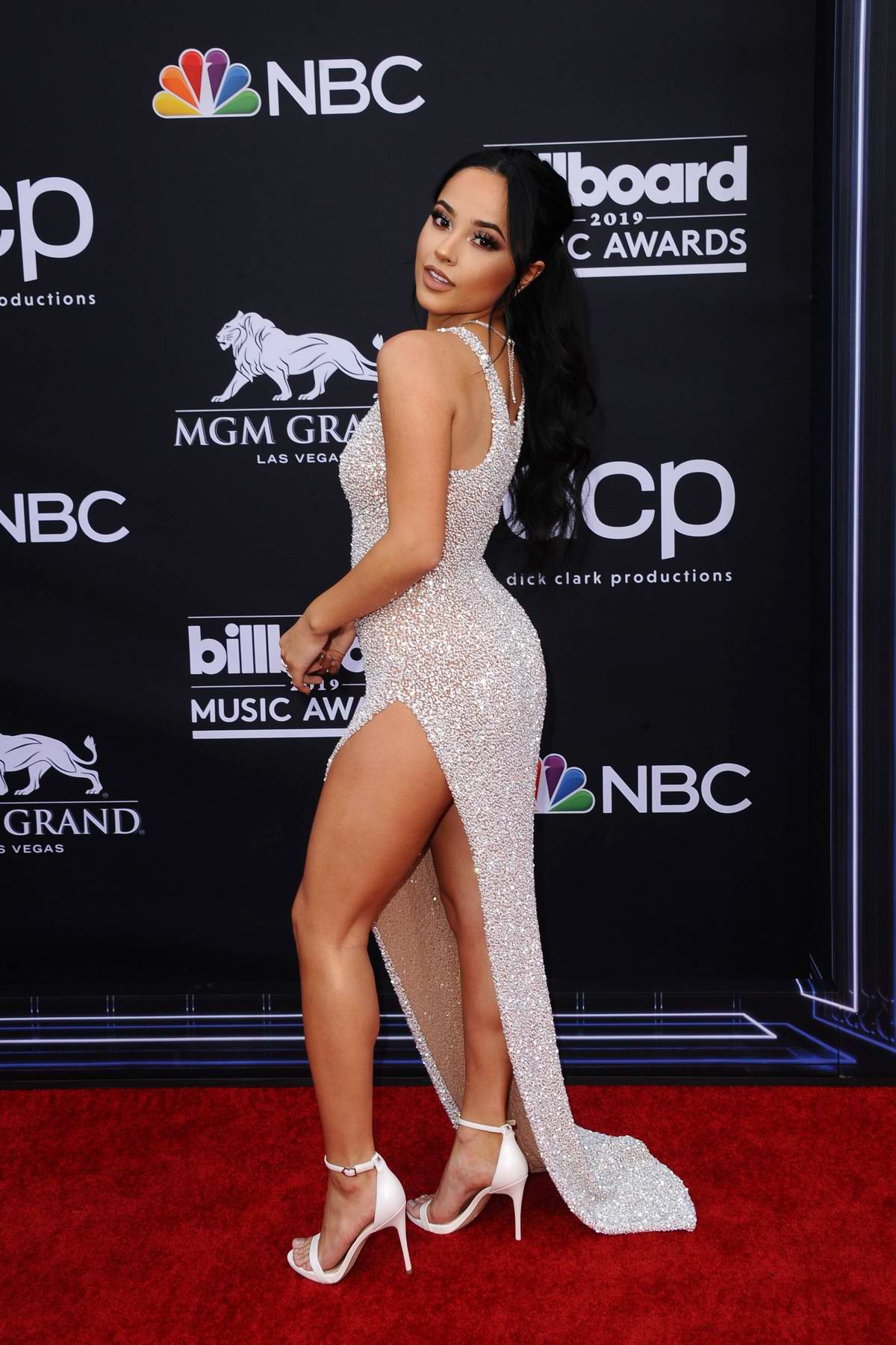Becky G attends the 2019 Billboard Music Awards at MGM Grand Garden Arena in Las Vegas, Nevada