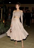 Bella Hadid attends Dior and Vogue Paris dinner at Fred L'Ecailler in Cannes, France