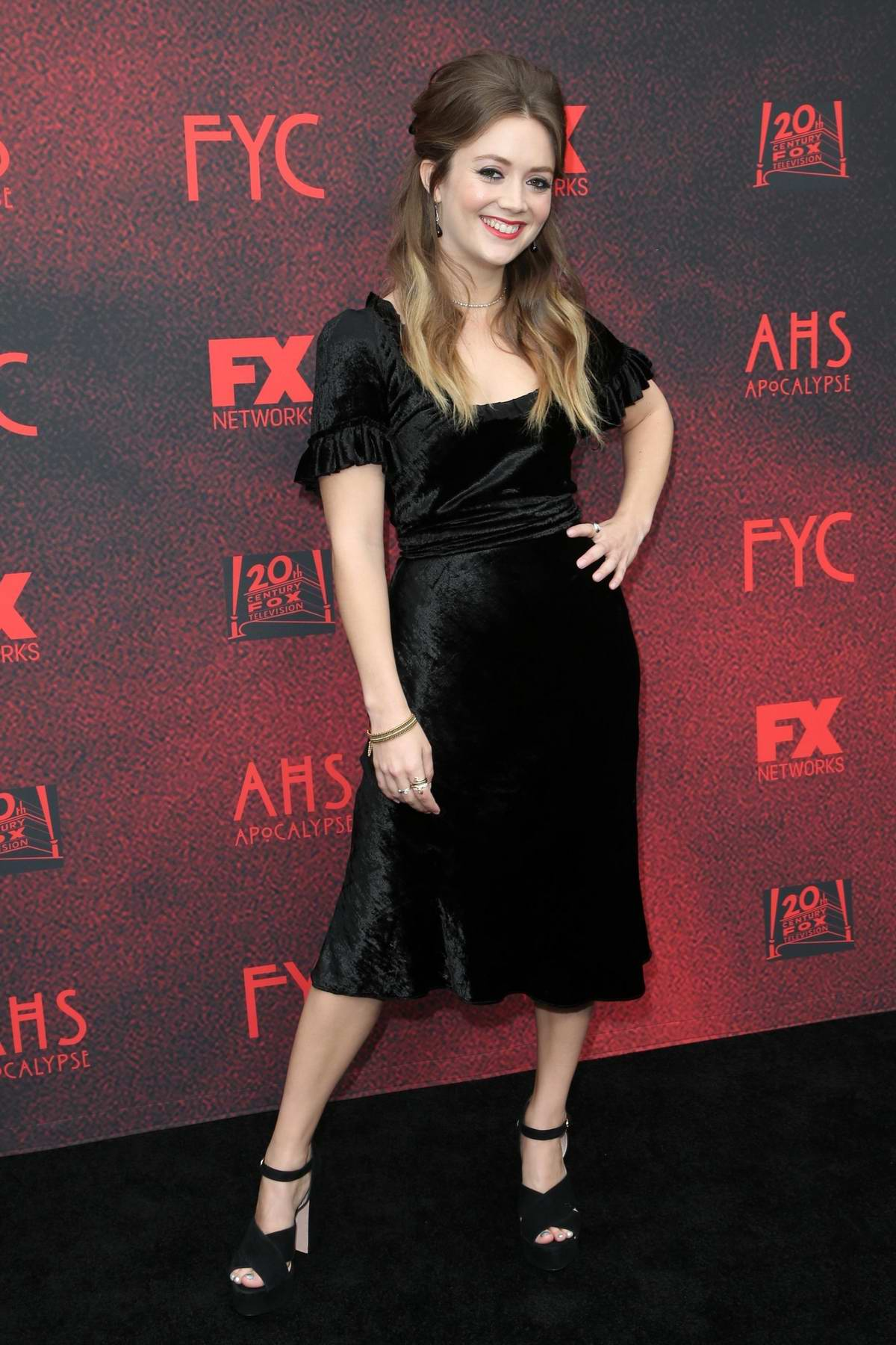 Billie Lourd attends the 20th Century FOX TV/FX's 'American Horror Story: Apocalypse' FYC Event in Los Angeles