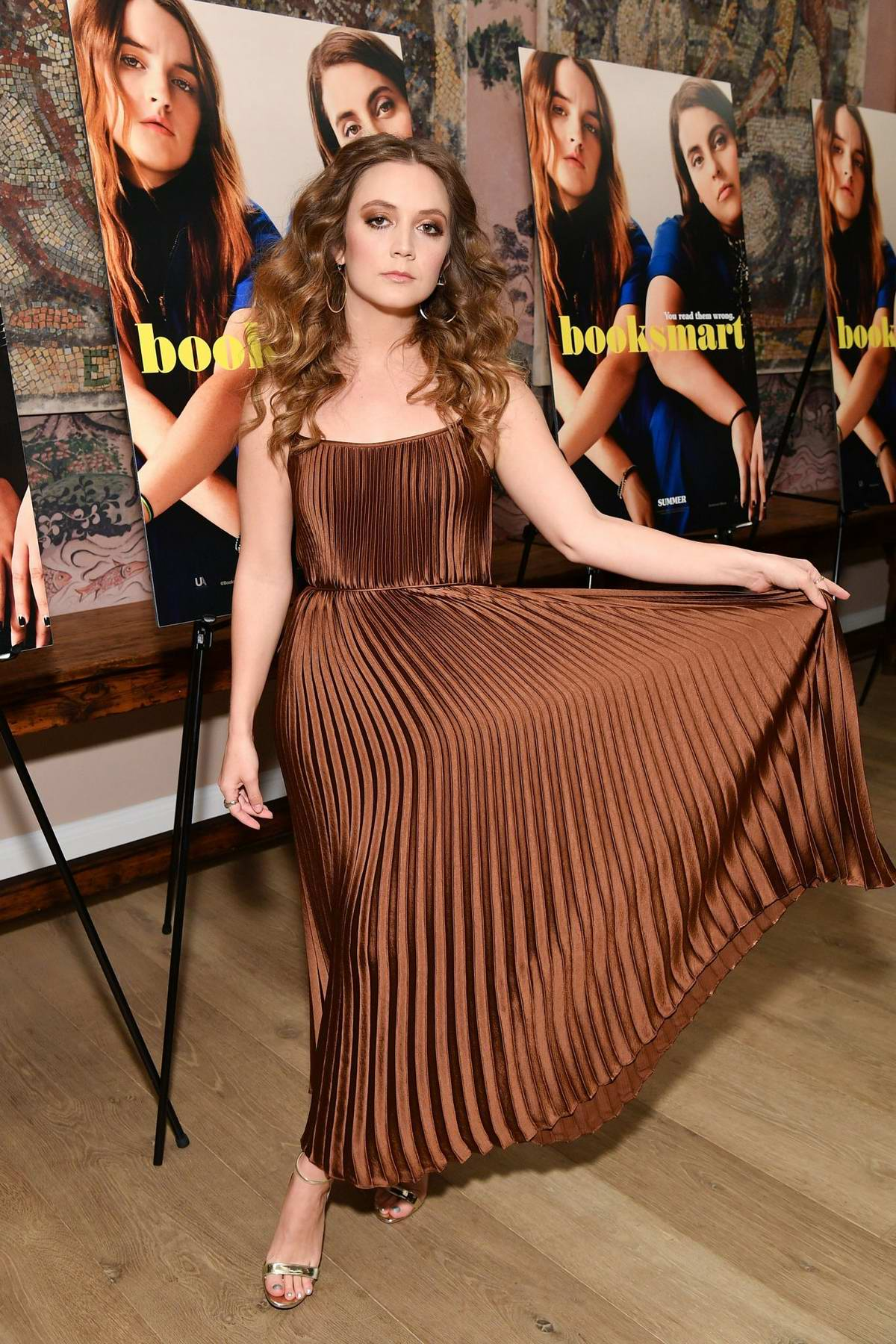 Billie Lourd attends the special screening of 'Booksmart' in New York City