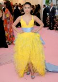 Camila Mendes attends The 2019 Met Gala Celebrating Camp: Notes on Fashion in New York City