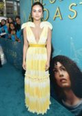 Camila Mendes attends the world premiere of 'The Sun Is Also A Star' at Pacific Theaters in Los Angeles