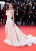 Camila Morrone attends the screening of 'Once Upon A Time In Hollywood' during the 72nd annual Cannes Film Festival in Cannes, France