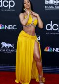 Cardi B attends the 2019 Billboard Music Awards at MGM Grand Garden Arena in Las Vegas, Nevada