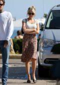 Charlotte McKinney and boyfriend Nathan Kotechko spotted leaving Nobu restaurant in Malibu, California