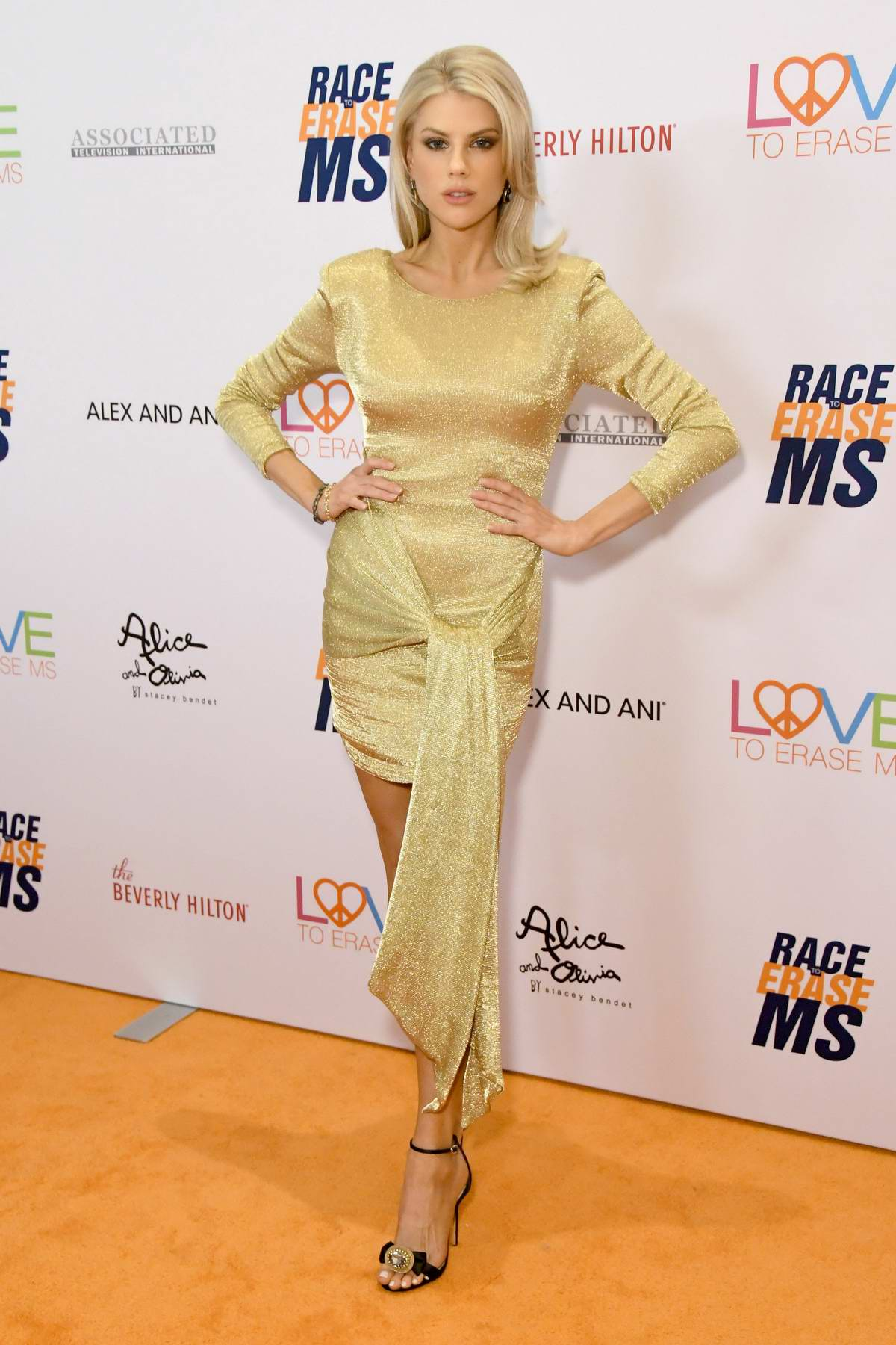 Charlotte McKinney attends the 26th Annual Race to Erase MS GALA held at the Beverly Hilton Hotel in Beverly Hills, Los Angeles
