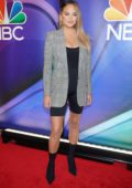 Chrissy Teigen attends the NBCUniversal Upfront Presentation at Four Seasons Hotel in New York City