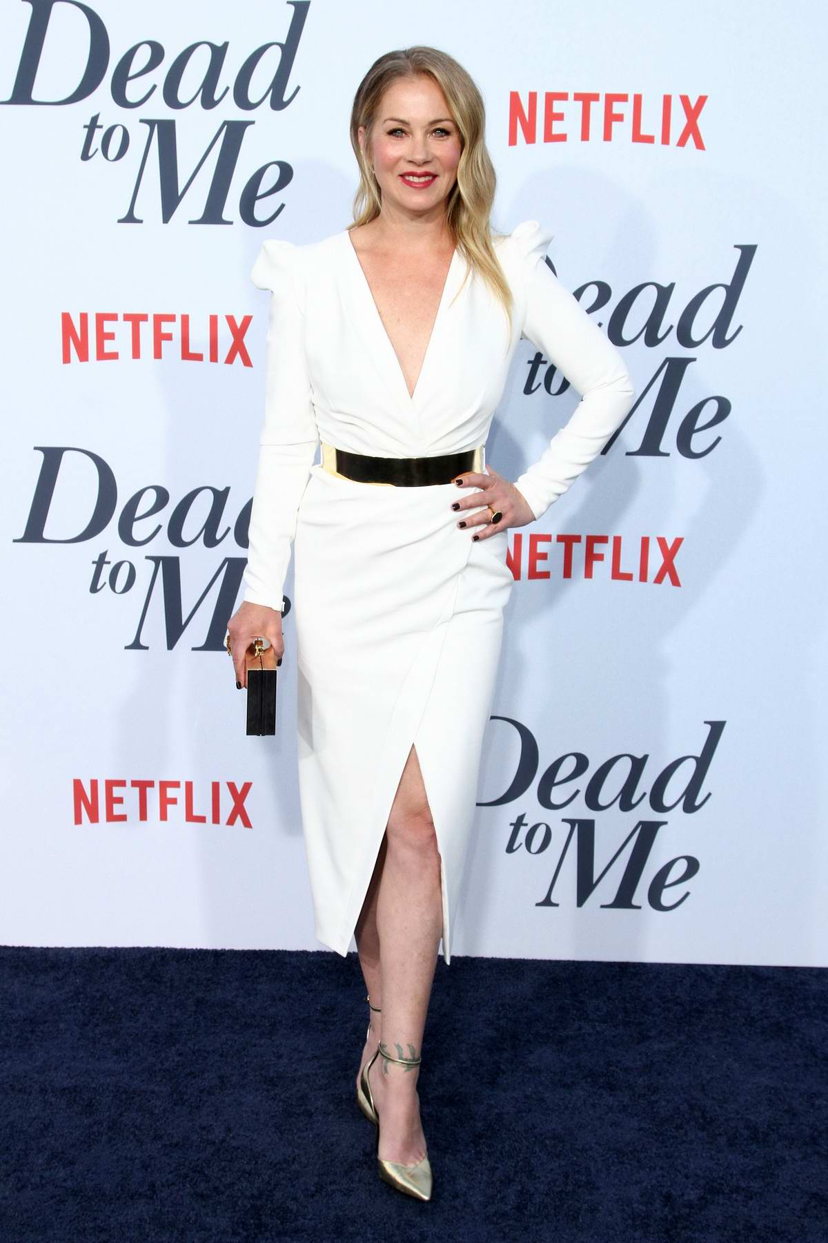 Christina Applegate attends 'Dead To Me' TV Show Premiere in Los Angeles