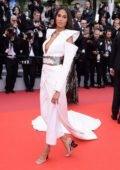 Cindy Bruna attends the screening of 'La Belle Epoque' during the 72nd annual Cannes Film Festival in Cannes, France
