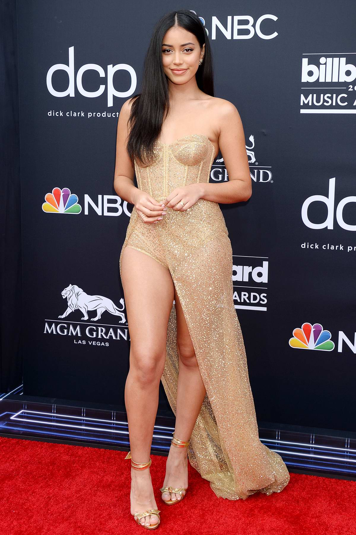 Cindy Kimberly attends the 2019 Billboard Music Awards at MGM Grand Garden Arena in Las Vegas, Nevada