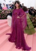 Dakota Johnson attends The 2019 Met Gala Celebrating Camp: Notes on Fashion in New York City