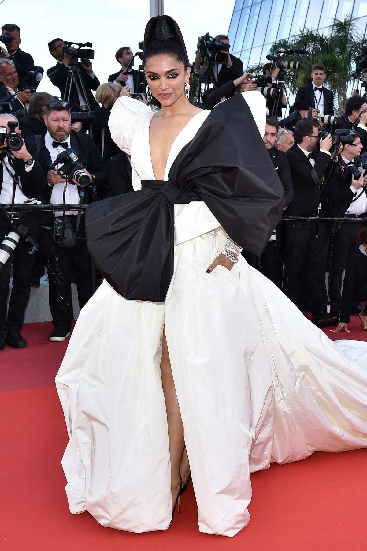 Deepika Padukone attends the screening of 'Rocketman' during the 72nd annual Cannes Film Festival in Cannes, France