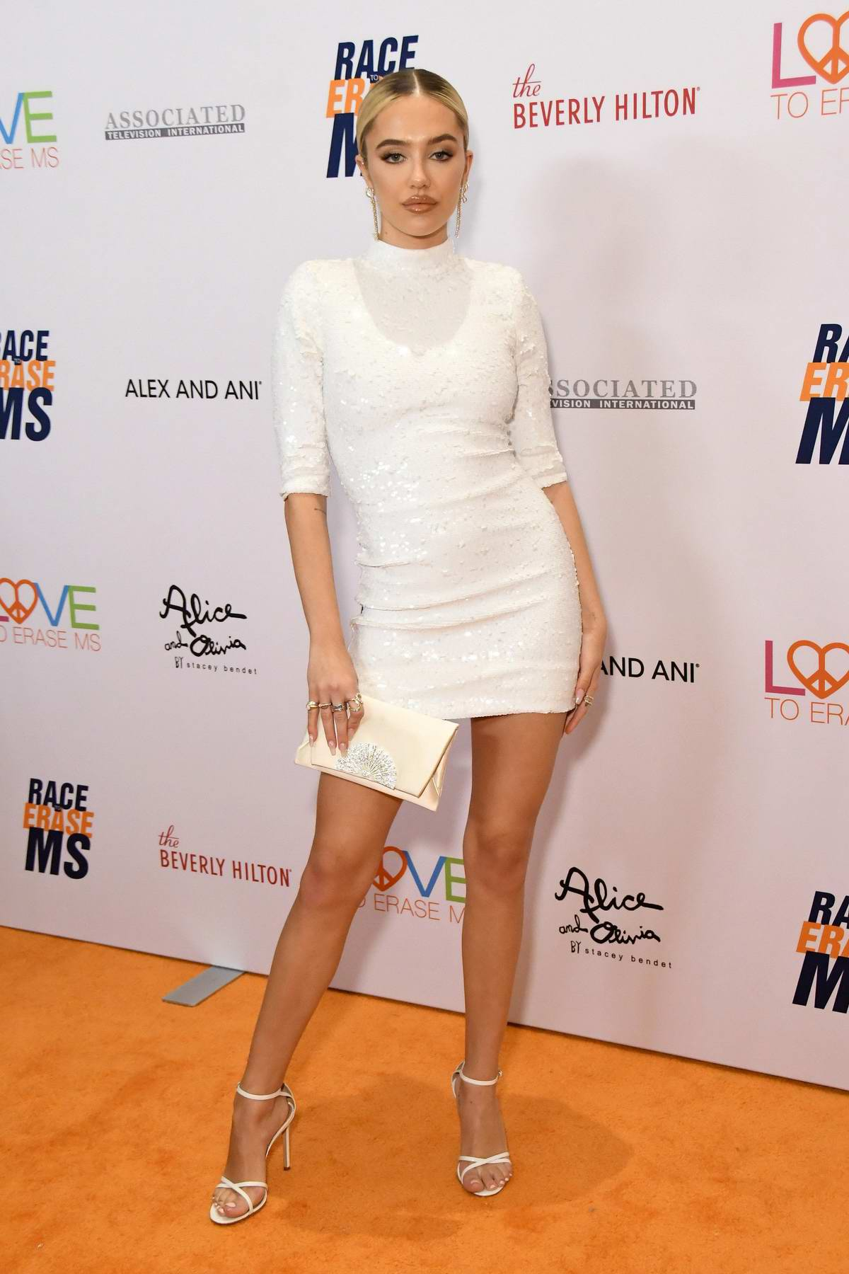 Delilah Hamlin attends the 26th Annual Race to Erase MS GALA held at the Beverly Hilton Hotel in Beverly Hills, Los Angeles