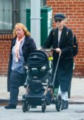 Diane Kruger steps out for a stroll with her mother in New York City