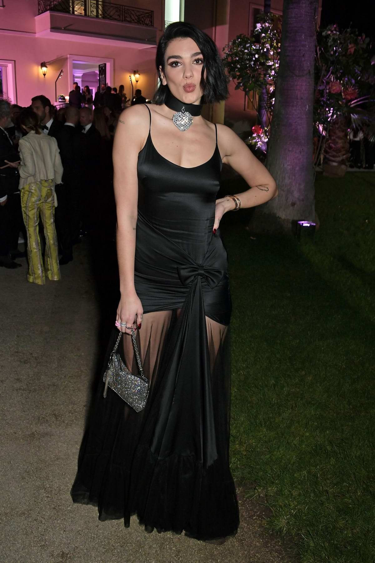 Dua Lipa attends the Formula E Dinner Celebrating world premiere of 'And We Go Green' during the 72nd Cannes Film Festival in Cannes, France