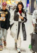 Dua Lipa touches down at Heathrow airport in London after attending the 72nd Cannes Film Festival