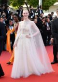 Elle Fanning attends the closing ceremony and screening of 'The Specials (Hors Nomes)' during the 72nd annual Cannes Film Festival in Cannes, France