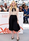 Elle Fanning attends the Jury photocall during the 72nd annual Cannes Film Festival in Cannes, France