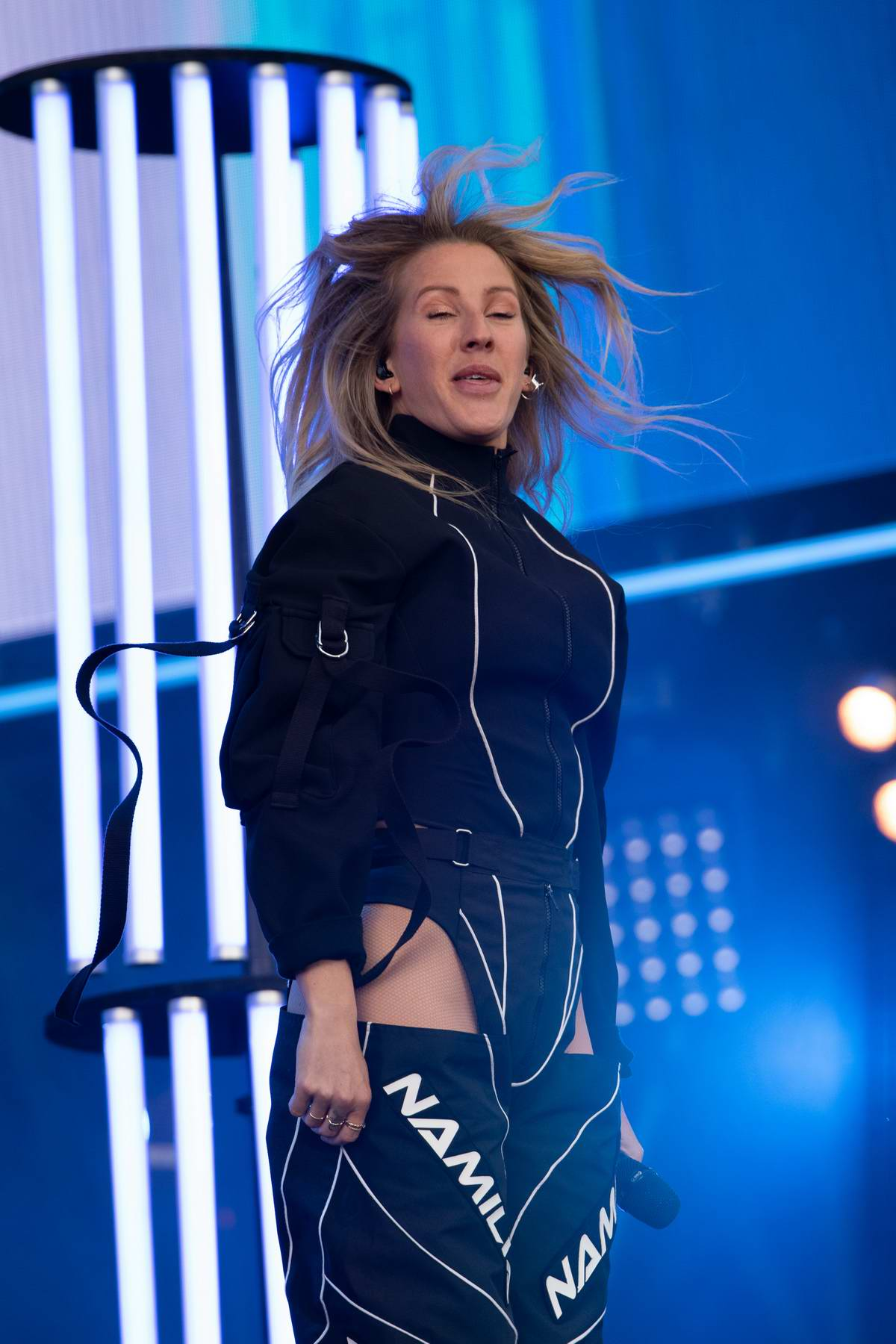 Ellie Goulding performs live at BBC Radio 1 Big Weekend at Stewart Park in Middlesborough, UK