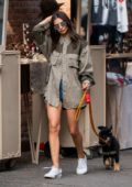 Emily Ratajkowski steps out for stroll with her new pup 'Colombo' in Soho, New York City