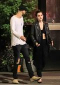 Emma Watson spotted out with a mystery man in New York City