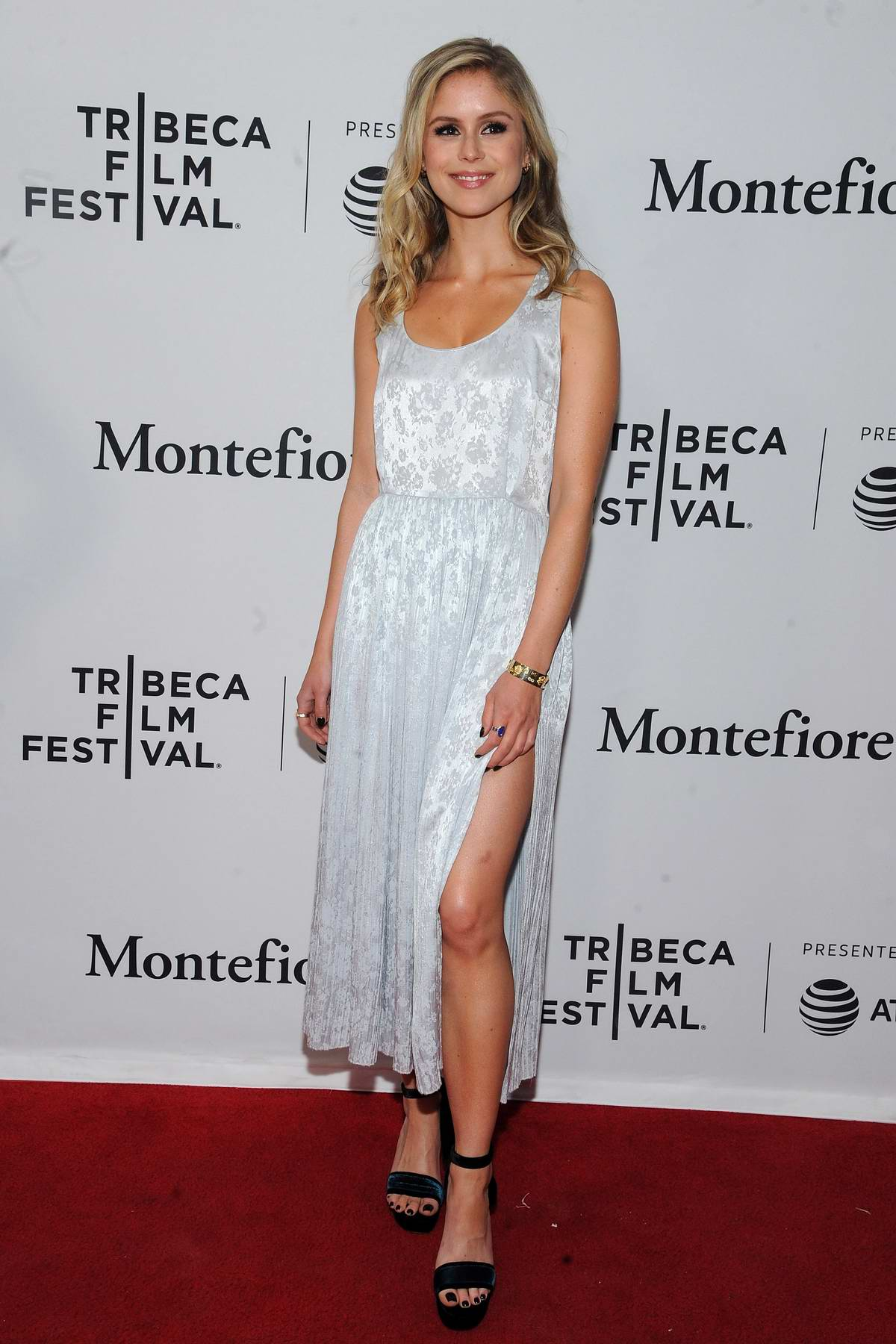 Erin Moriarty attends 'The Boys' premiere during 2019 Tribeca Film Festival in New York City