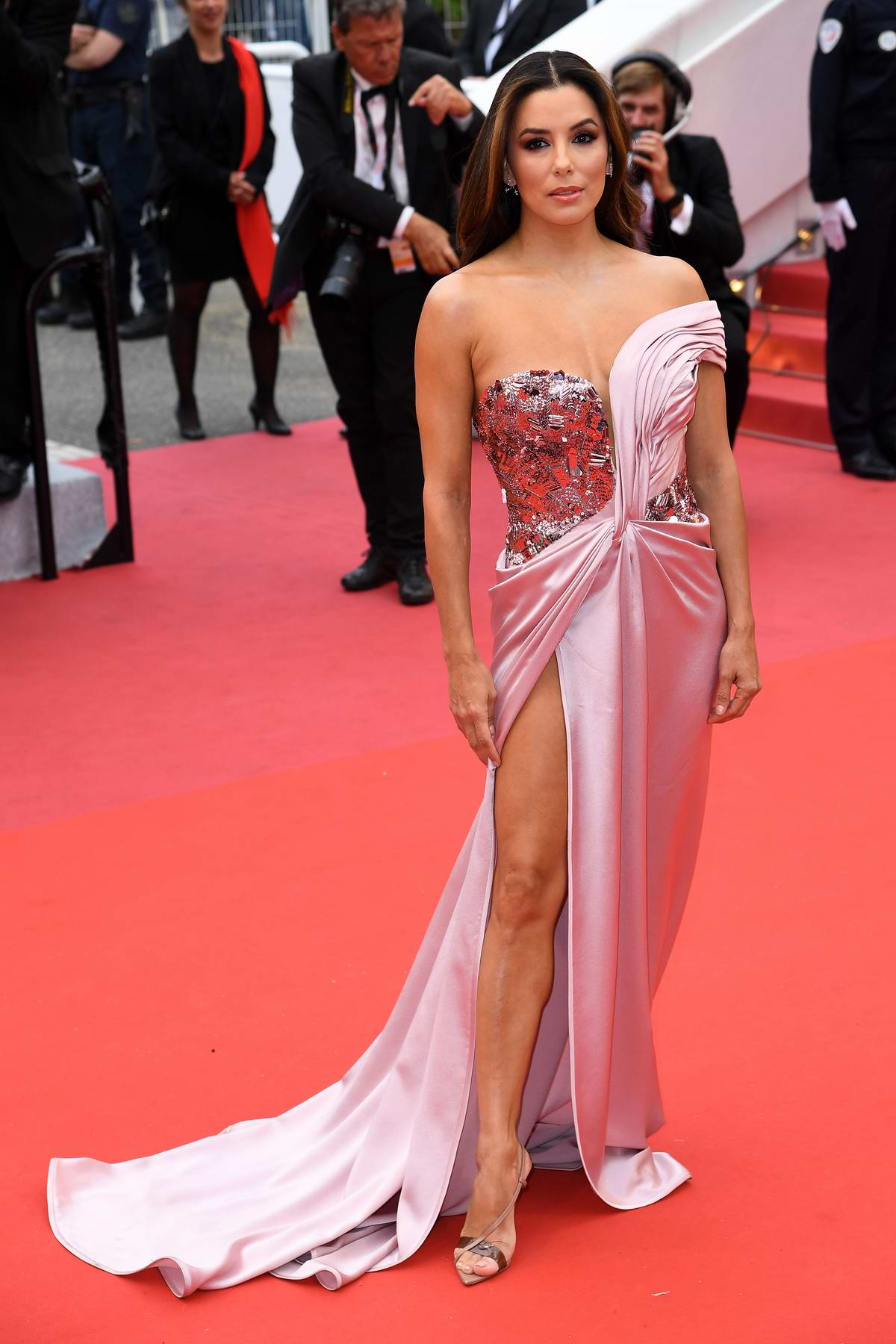 Eva Longoria attends 'The Dead Don't Die' Premiere during The 72nd annual Cannes Film Festival in Cannes, France