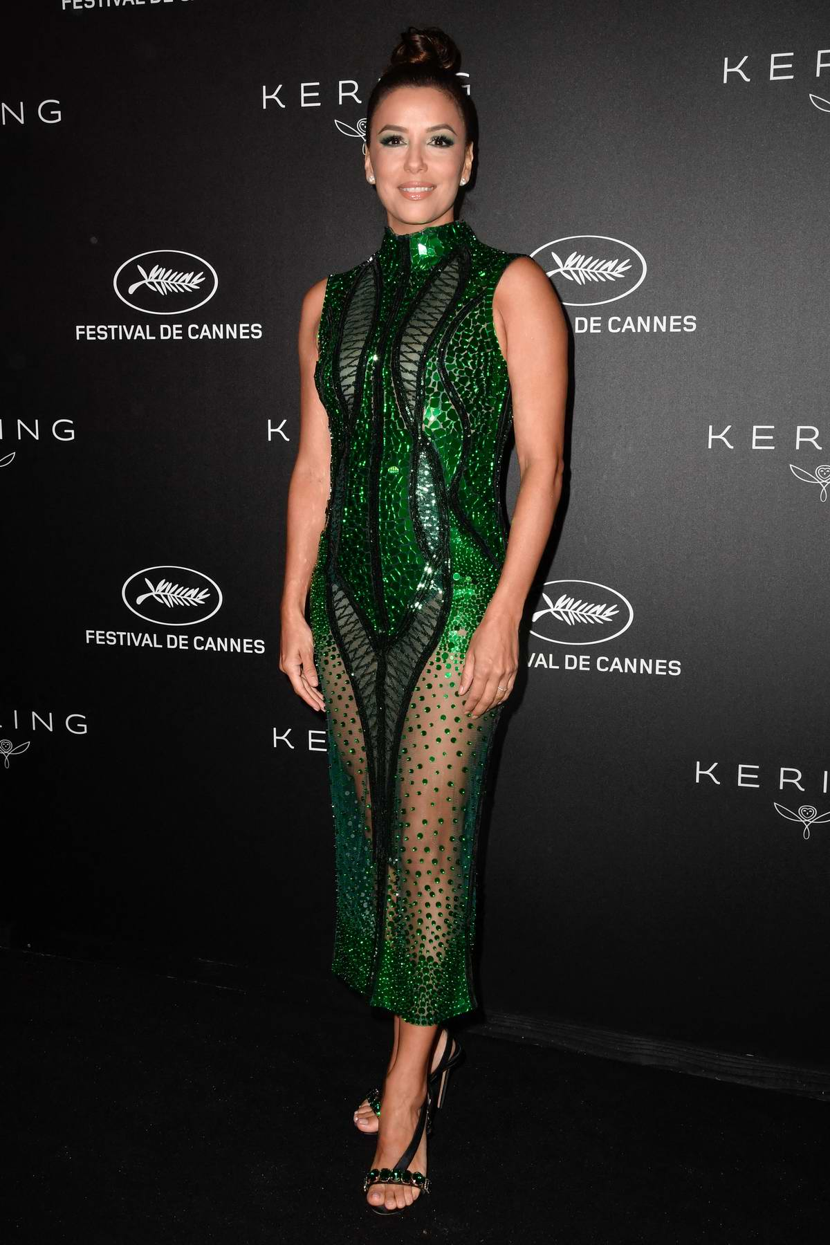 Eva Longoria attends the Kering Women In Motion Awards during the 72nd annual Cannes Film Festival in Cannes, France