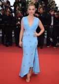 Florence Pugh attends the screening of 'La Belle Epoque' during the 72nd annual Cannes Film Festival in Cannes, France
