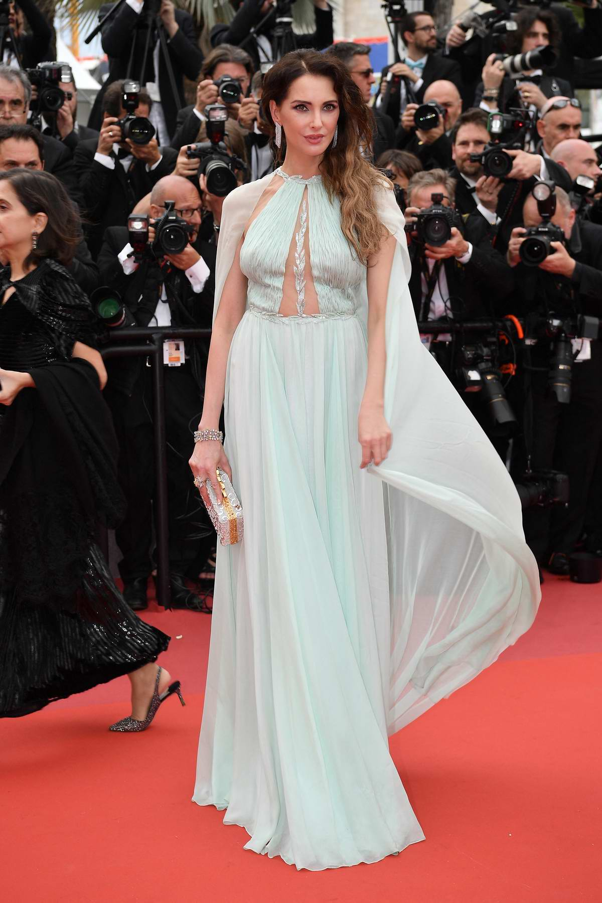 Frederique Bel attends 'The Dead Don't Die' Premiere during The 72nd annual Cannes Film Festival in Cannes, France