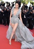 Frederique Bel attends the screening of 'Rocketman' during the 72nd annual Cannes Film Festival in Cannes, France
