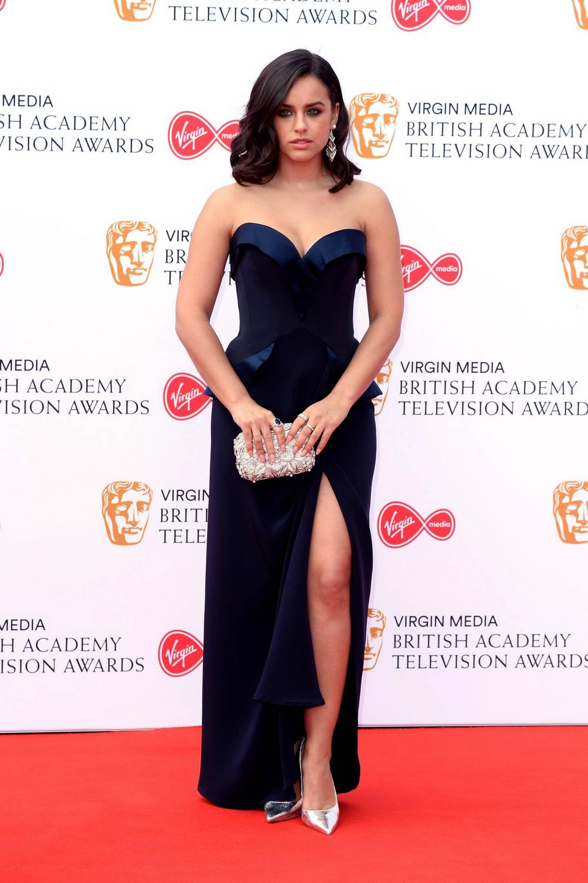 Georgia May Foote attends the 2019 British Academy Television Awards at Royal Festival Hall in London, UK