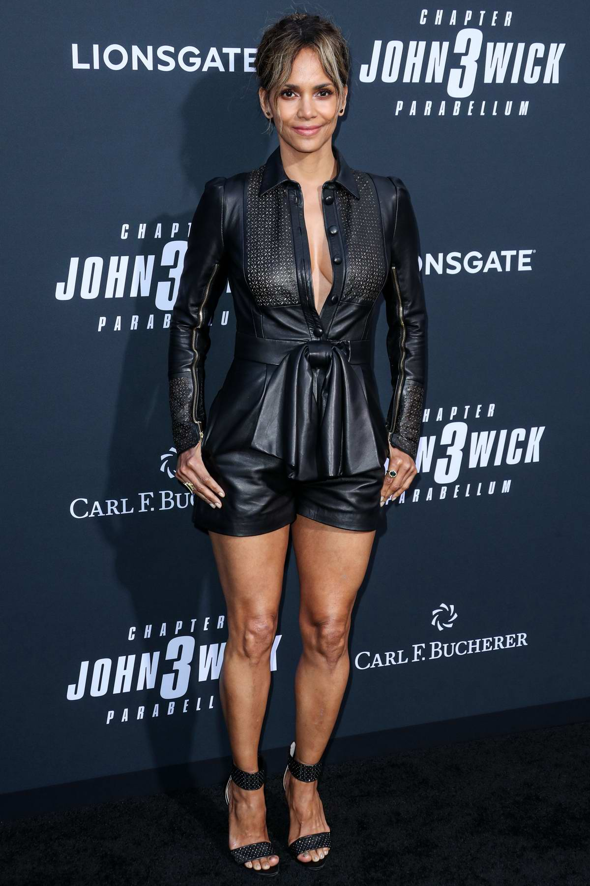 Halle Berry attends 'John Wick: Chapter 3 - Parabellum' premiere at TCL Chinese Theatre in Hollywood, California