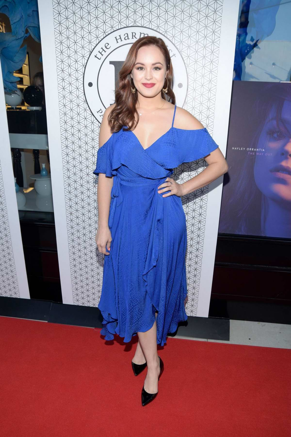 Hayley Orrantia celebrates her New EP Release at The Harmonist in West Hollywood, Los Angeles