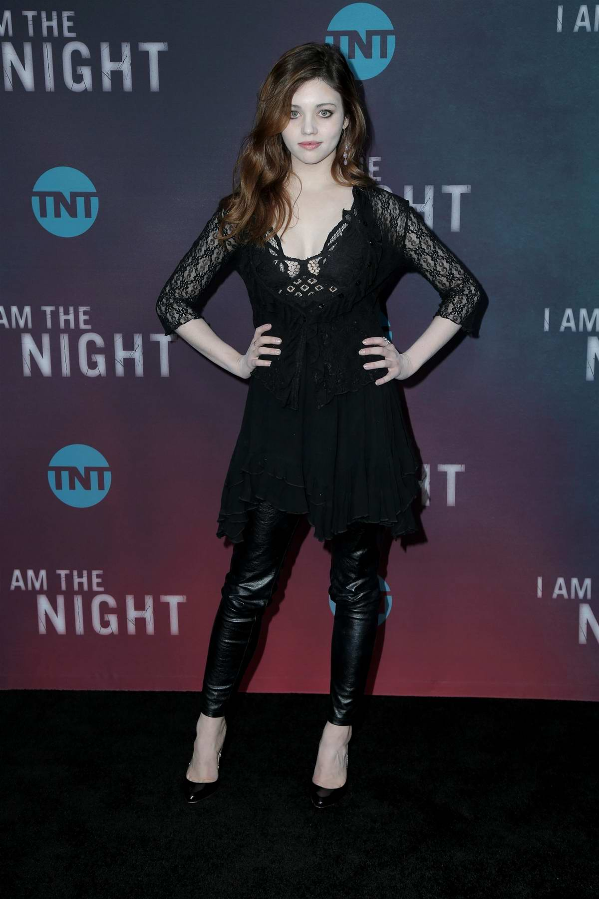 India Eisley attends TNT's 'I Am The Night' EMMY FYC Event in Los Angeles