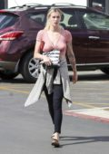 Ireland Baldwin spotted in a pink crop top during a shopping trip to Sephora in Los Angeles