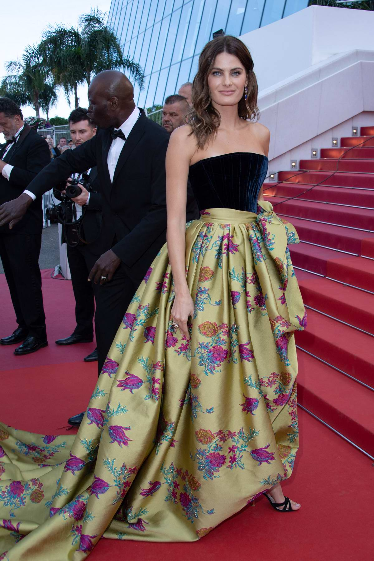 Isabeli Fontana attends the screening of 'Rocketman' during the 72nd annual Cannes Film Festival in Cannes, France