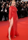 Iskra Lawrence attends the screening of 'Les Plus Belles Annees D'Une Vie' during the 72nd annual Cannes Film Festival in Cannes, France