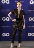 Ivana Baquero attends the 2019 GQ Inconquistables Awards in Madrid, Spain