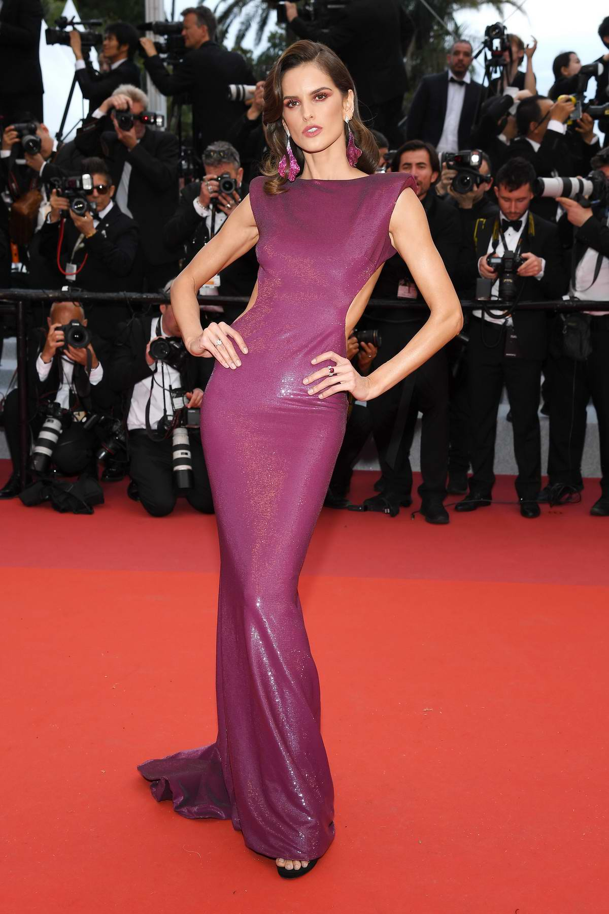Izabel Goulart attends 'The Dead Don't Die' Premiere during The 72nd annual Cannes Film Festival in Cannes, France