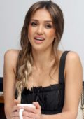 Jessica Alba attends the Press Conference and Photocall for LA's Finest in Beverly Hills, Los Angeles