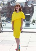 Jessica Chastain attends X-Men: Dark Phoenix Photocall in Moscow, Russia
