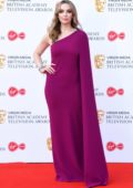 Jodie Comer attends the 2019 British Academy Television Awards at Royal Festival Hall in London, UK