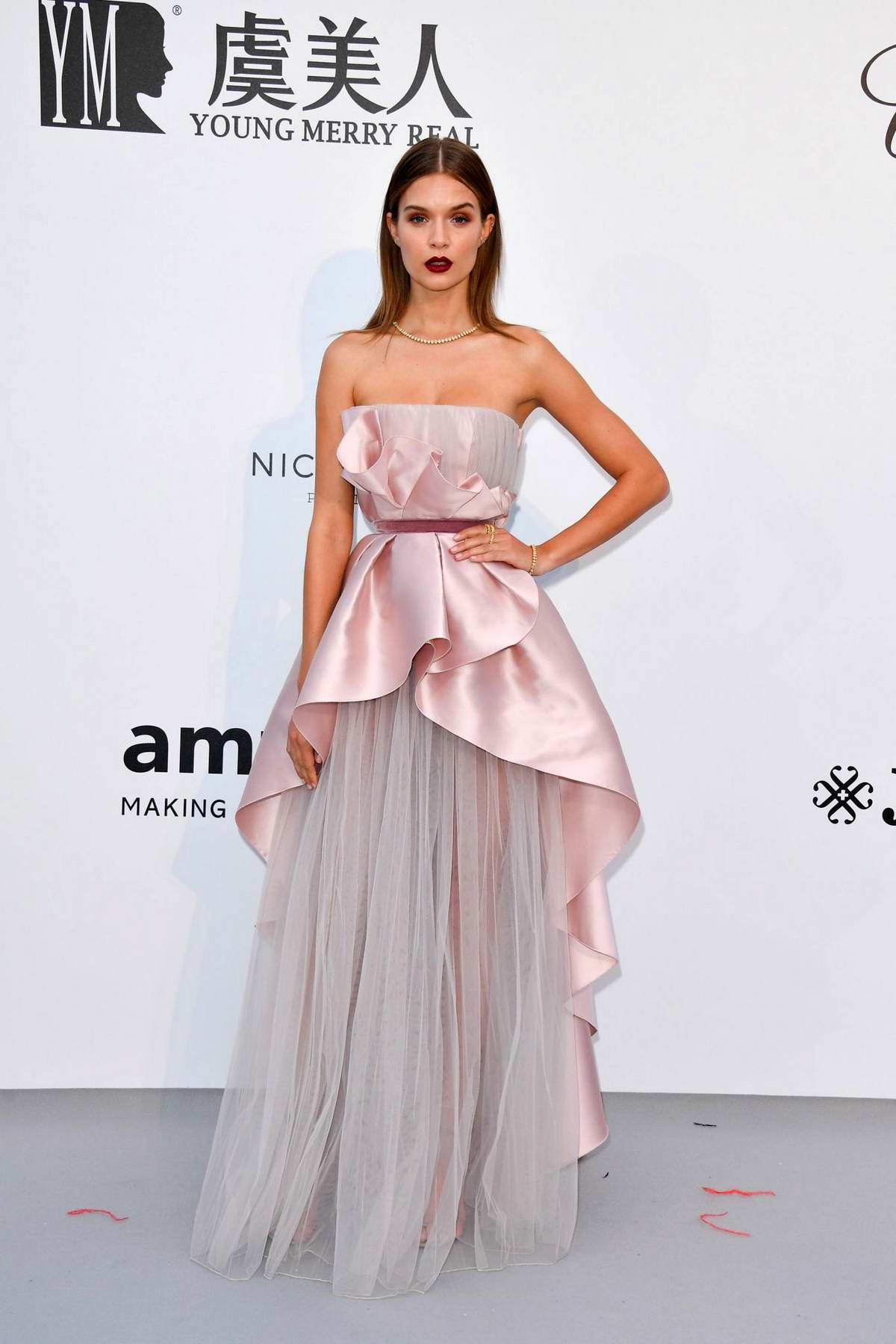 Josephine Skriver attends the 26th amfAR Gala held at Hotel du Cap-Eden-Roc during the 72nd annual Cannes Film Festival in Cannes, France
