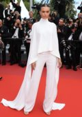 Josephine Skriver attends the screening of 'Oh Mercy! (Roubaix, une Lumiere)' during the 72nd annual Cannes Film Festival in Cannes, France