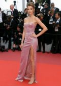 Josephine Skriver attends the screening of 'Once Upon A Time In Hollywood' during the 72nd annual Cannes Film Festival in Cannes, France
