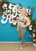 Julianne Hough attends the 'In goop Health Summit' at Rolling Greens Nursery in Los Angeles